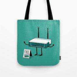 Free Wi-fi Tote Bag
