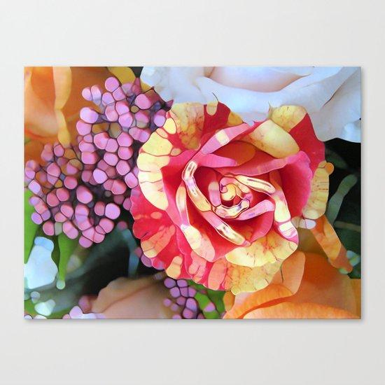 Hocus Pocus Rose Canvas Print