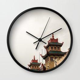 Chinatown Chicago #5 Wall Clock