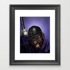 WU-Swordsman Framed Art Print