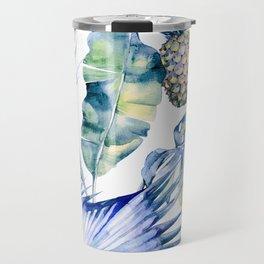 Bahamas - blue Travel Mug