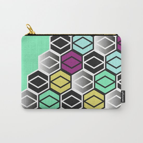 HexagonWall Carry-All Pouch