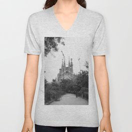 At First Sight Unisex V-Neck
