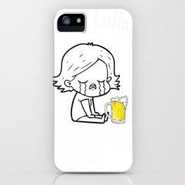 Drunken Lullabies With Beer iPhone Case