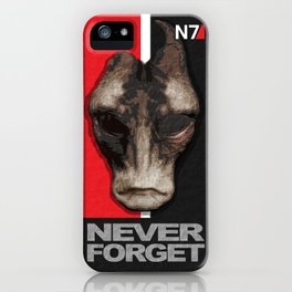 NEVER FORGET - Mordin Solus- Mass Effect iPhone Case
