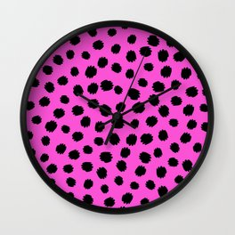 Keep me Wild Animal Print - Spots Wall Clock