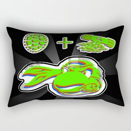 Turtle D.I.Y. Rectangular Pillow