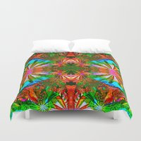 aloha Duvet Covers featuring Aloha by Glanoramay