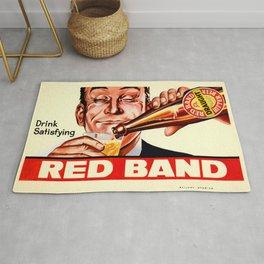 Vintage poster - Red Band Beer Rug