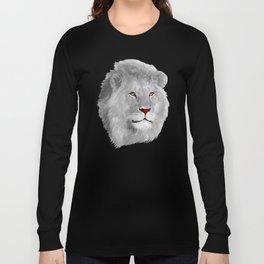 Albino Lion Long Sleeve T-shirt