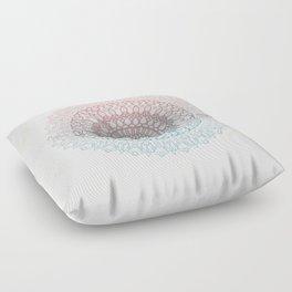 Pastels Mandala Floor Pillow