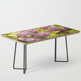 Lilac flowers Coffee Table