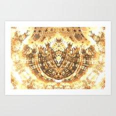 Heart of the Sun Art Print