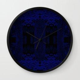 Blue Chamber Wall Clock