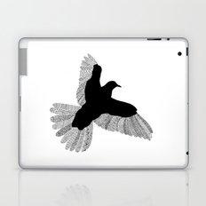 Bird (On White) Laptop & iPad Skin