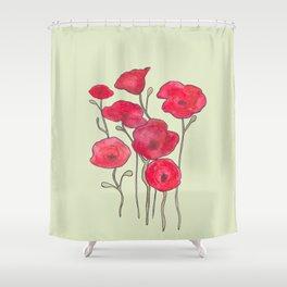 Opiate Love Shower Curtain