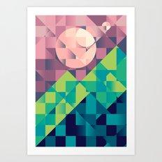 Time off Art Print