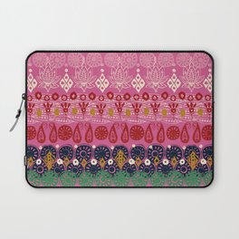 lotus block pink Laptop Sleeve