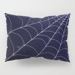 Spiderweb on Midnight Pillow Sham