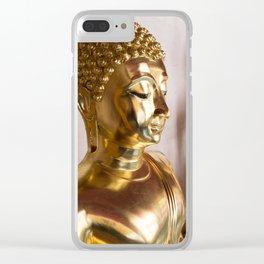 Buddha, Wat Pho, Bangkok, Thailand Clear iPhone Case