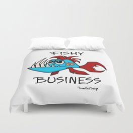 Fishy Business Duvet Cover