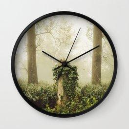 Magic stump Wall Clock