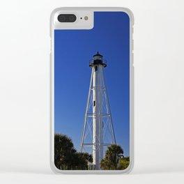 Rear Ranger Lighthouse III Clear iPhone Case