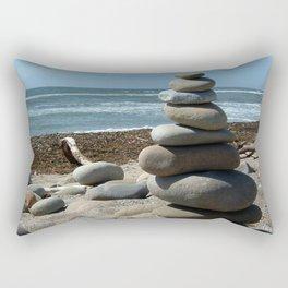 Beach Tower Rectangular Pillow