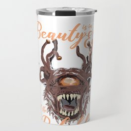 Beauty Is In The Eye Of The Beholder RPG Tabletop Travel Mug