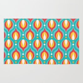 Colorful Dewdrops Rug