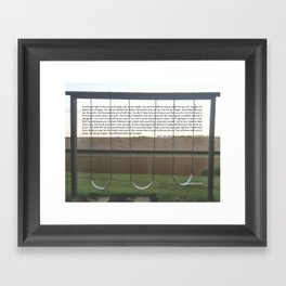 you will know Framed Art Print