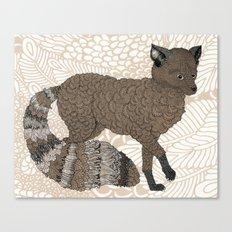 Brown Fox Canvas Print