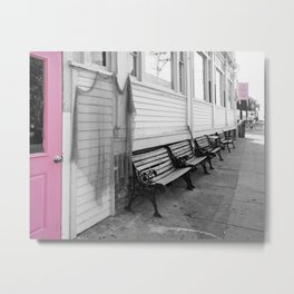 Provincetown, Cape Cod, in Pink Metal Print