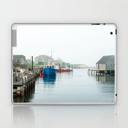Peggy's Cove fishing village. Laptop & iPad Skin