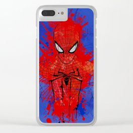 The Amazing Spiderman Clear iPhone Case