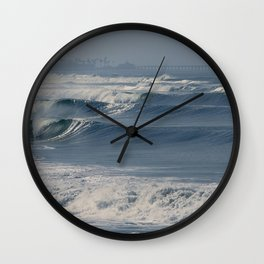 The Pulse of the Oceans Heartbeat Wall Clock
