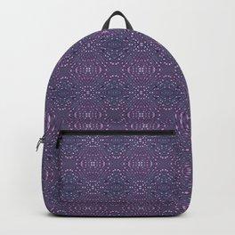 Heather Stem - Purple Backpack