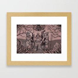 Folklore Framed Art Print