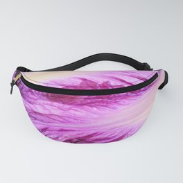 Purple Cabbage Beautiful Abstract Patterns By Nature Fanny Pack