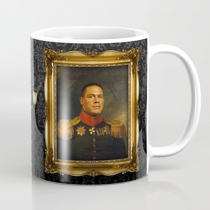 John Cena Replaceface Coffee Mug By Replaceface Society6