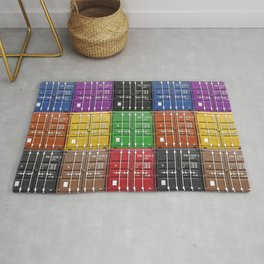 shipping container color box Rug