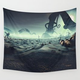 Aldebaran Planet - Roots Wall Tapestry