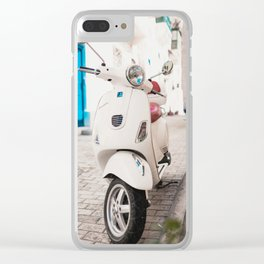 Valletta Streets Clear iPhone Case