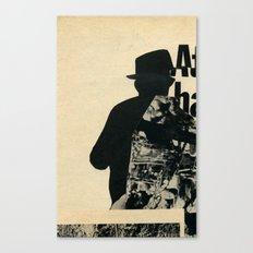 Mystery Man Canvas Print