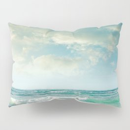 beach love tropical island paradise Pillow Sham