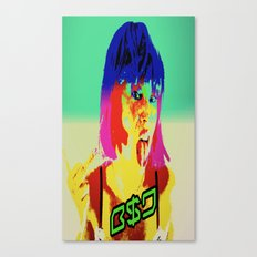 Middle finger to them all B$D  Canvas Print