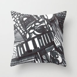 The tunnel of love. Throw Pillow