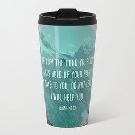 Isaiah 41:13 Travel Mug