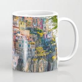 Italy Photography - Colorful Houses In Manarola Coffee Mug