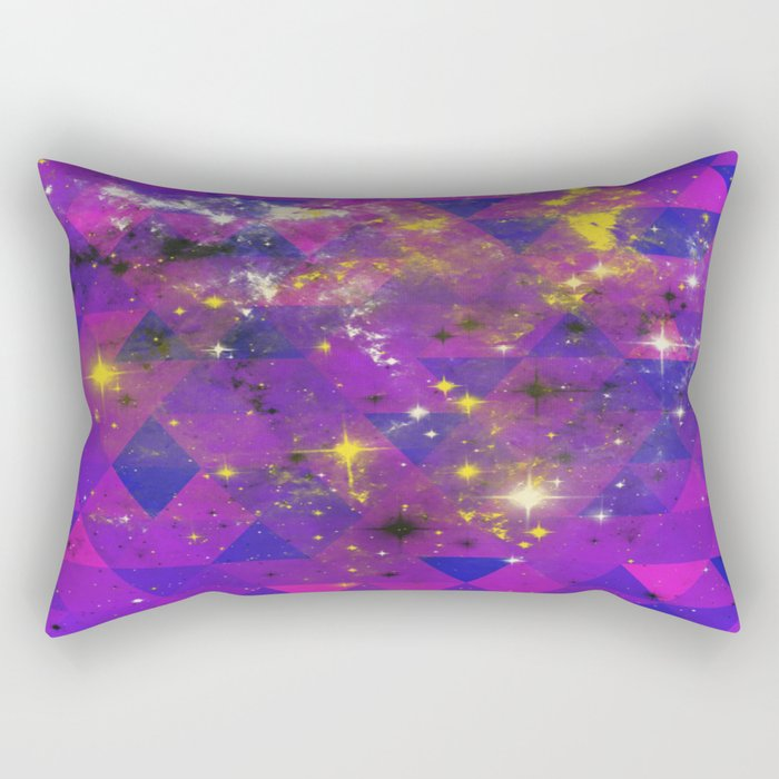 Geometric Universe Rectangular Pillow
